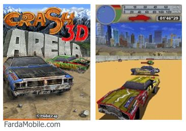 بازی جاوا Crash Arena 3D